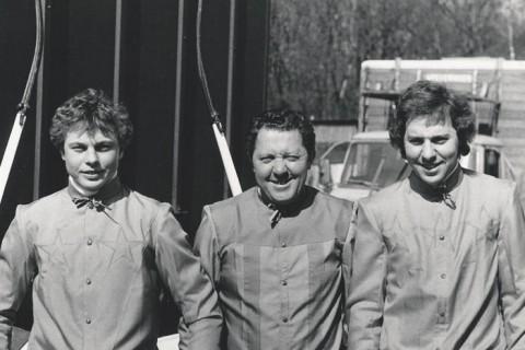 Jan van Dooyeweerd jr., Jan van Dooyeweerd sr., Bert van Dooyeweerd